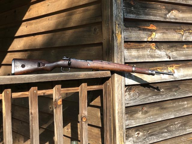 Mauser yugo m48 Armed (But